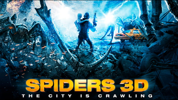 Spiders 3D on FREECABLE TV