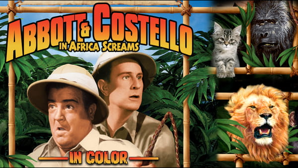 Abbott & Costello in Africa Screams (In Color) on FREECABLE TV