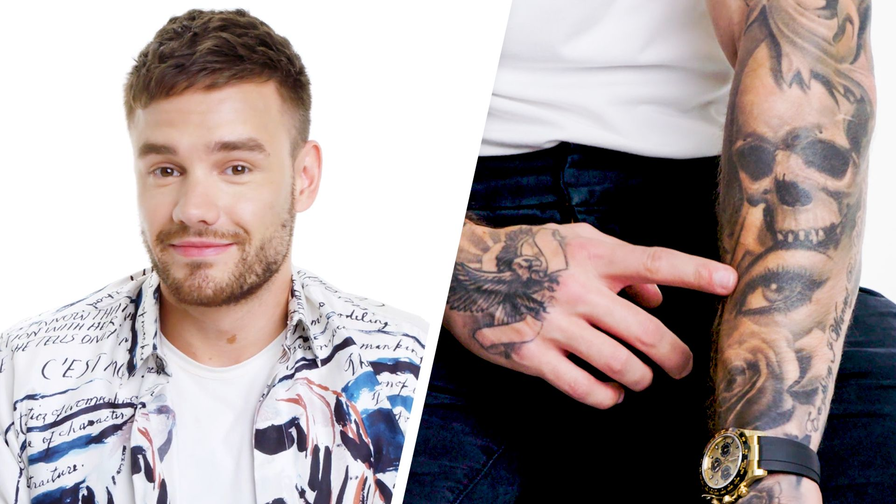 Liam Payne Breaks Down His Tattoos | XUMO