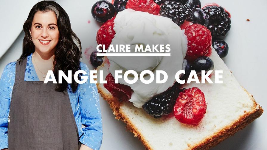 Claire Bakes Angel Food Cake Xumo