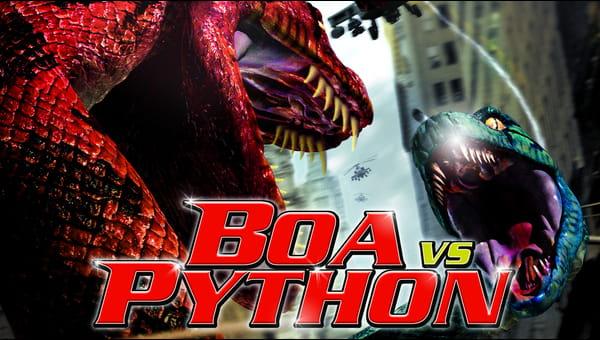 Boa vs. Python on FREECABLE TV