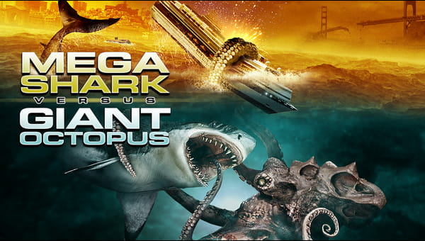 Mega Shark vs Giant Octopus on FREECABLE TV