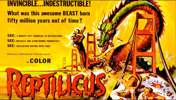 Reptilicus on FREECABLE TV