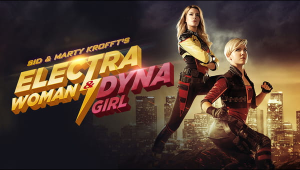 Electra Woman & Dyna Girl on FREECABLE TV