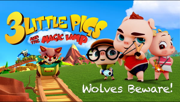 3 Little Pigs and the Magic Lamp on FREECABLE TV