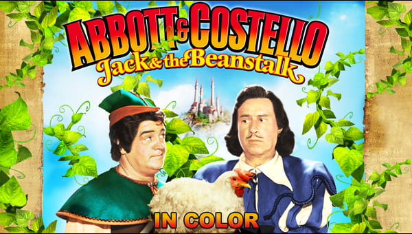 Abbott and Costello Jack and the Beanstalk (in Color) on FREECABLE TV